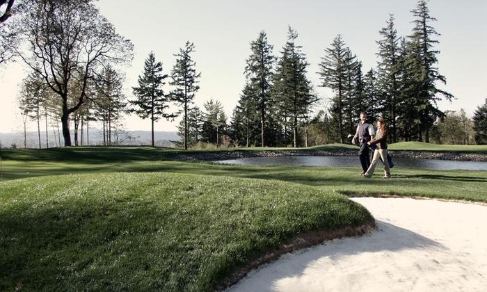 Eagle Landing Golf Course - Sunnyside: 18 or Nine Hole Golf or Mini Golf for Two at Eagle Landing Golf Course (50% Off)