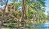 River Bluff Cabins - Leakey, TX: 1- or 2-Night Stay for Up to 14 at River Bluff Cabins in Leakey, TX. Combine Up to 4 Nights.