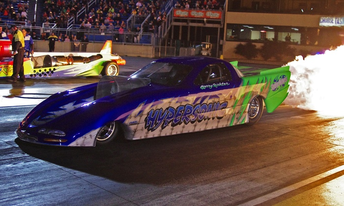 Four Seasons Heating, Air Conditioning and Plumbing BURNDOWN AT SUNDOWN! - Route 66 Raceway: $12 to See the Four Seasons Heating, Air Conditioning and Plumbing BURNDOWN AT SUNDOWN! at Route 66 Raceway ($20 Value)