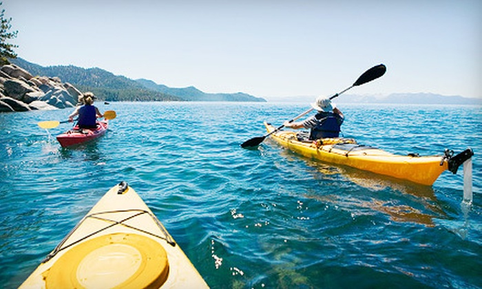 Life's A Beach Watersports - Lighthouse Cove Condo: Two-Hour Kayak Rental for One or Two from Life's A Beach Watersports (Up to 53% Off)