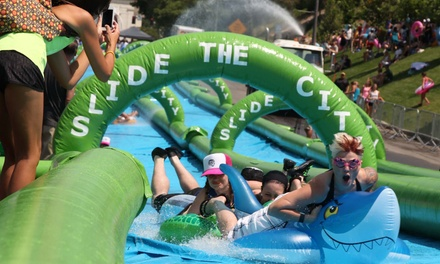 $34 for Slide the City Giant-Water-Slide Event on Saturday, September 12, at 11 a.m. ($70 Value)