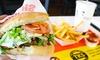 The Kebab Shop - Baylands: $14 for $20 Worth of Kebabs, Falafels, and Other Mediterranean Food at The Kebab Shop