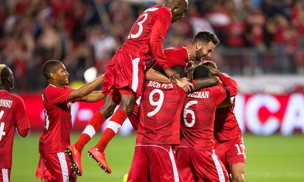 $23 for 1 Ticket to Canadian Men's National Team 2018 FIFA World Cup Qualifying Match at BMO Field on 6/16 ($39 Value)