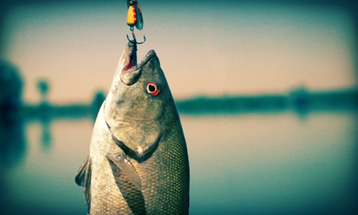 The Villages Fishing Guide - East Marion: Six-Hour Fishing Trip for One or Two from The Villages Fishing Guide (Up to 57% Off). Four Options Available.