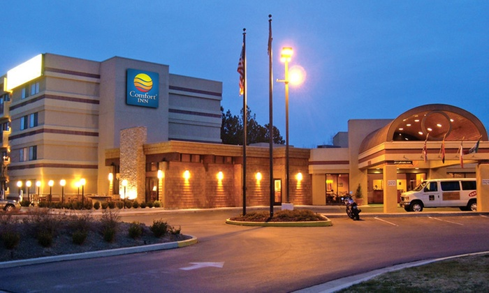 Comfort Inn Salt Lake City Airport - Jordan Meadows: One- or Two-Night Stay for Two at Comfort Inn Salt Lake City Airport in Salt Lake City