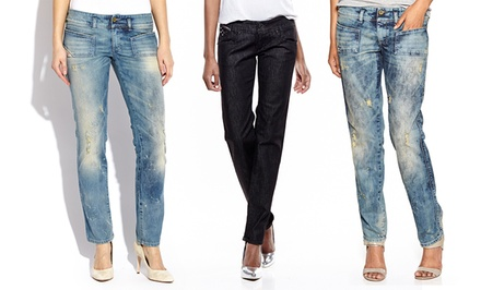 Diesel Women's Distressed Denim | Brought to You by ideel