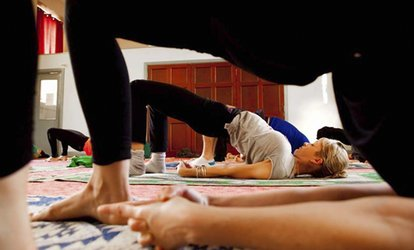 image for One Month of Shivam Yoga Classes for One or Two at Shivam Yoga Dublin (Up to 76% Off)
