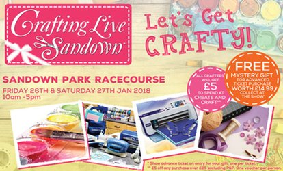 image for Two Tickets to Crafting Live at Sandown Park Racecourse, 26-27 Jan (Up to 50% Off)
