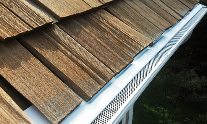 ARC Window Cleaning - Minneapolis / St Paul: $839 for Aluminum Gutter Covering from ARC Window Cleaning ($1,200 Value)