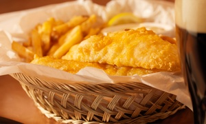 Bassendean Fish Chips: Seafood Basket and Soft Drink: Two ($19), Four ($37) or Six People ($55) at Bassendean Fish & Chips (Up to $99 Value)