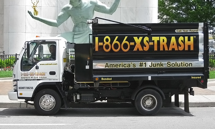 1-866-XS-TRASH - Dearborn Heights: $69 for 1/8 of a Truckload of Junk Removal from 1-866-XS-Trash ($139 Value)