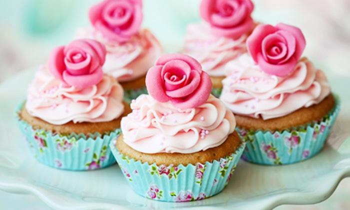 Angel Devil Cakes - San Jose: $19 for One Dozen Cupcakes at Angel Devil Cakes (Up to $39.99 Value)