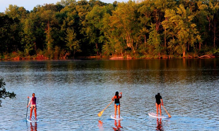 Liquid Skills - Beachburg: 90-Minute Stand-Up Paddleboard Rental for One or Two from Liquid Skills (Up to 40% Off)