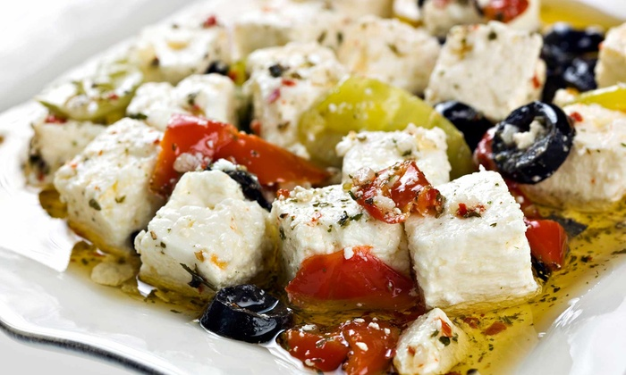 Trakia - Astoria: Small Plates and Wine or Sangria at Trakia (55% Off). Two Options Available.
