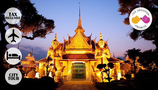 Amazing Thailand! BKK 4D3N+Flight 0