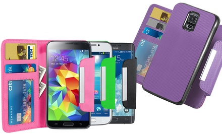 Acellories Wallet with Removable Case for Samsung Galaxy S4, Galaxy S5, or Note 4 from $9.99–$11.99
