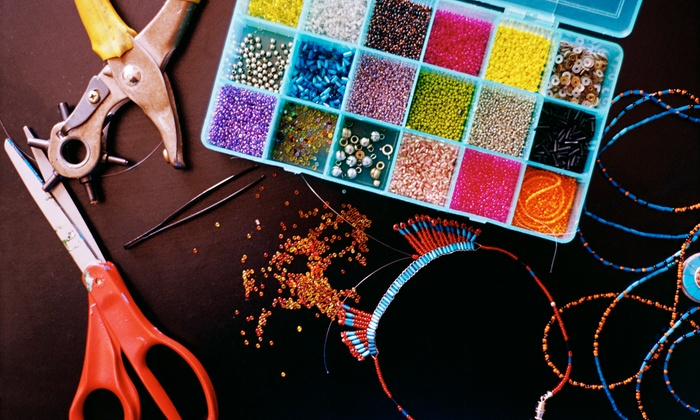 The Bead Studio - Silver Spring: Half- or Full-Day Kid's Beading Camp on Saturday, July 26 at The Bead Studio (Up to 55% Off)