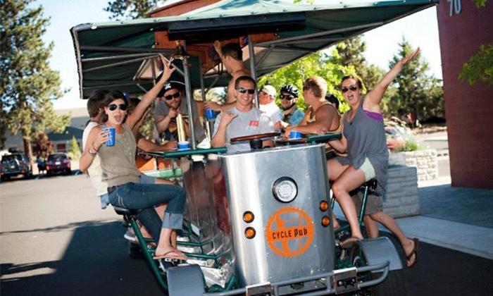 Detroit Cycle Pub - Detroit: Pedal Pub at Detroit Cycle Pub (Up to 34% Off). Two Options Available