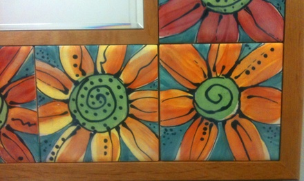 $25 for a Surface-Decoration Tile Class at VisArts ($45 Value)