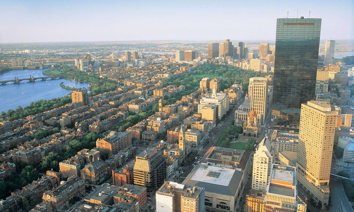 Prudential Skywalk - Skywalk Observatory: $12 for Admission to  Skywalk and Dreams of Freedom Museum at the Prudential Center ($17 Value)