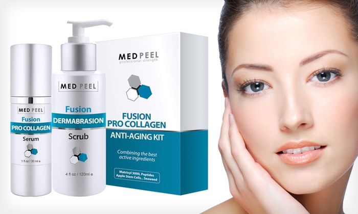 Fusion Pro Collagen Resurfacing Treatment: $29.99 for a Fusion Resurfacing Microdermabrasion Treatment ($110 List Price). Free Shipping.
