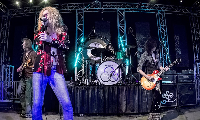 Led Zepagain - Riverside Municipal Auditorium: Led Zepagain — Led Zeppelin Tribute on Friday, March 25, at 8 p.m.