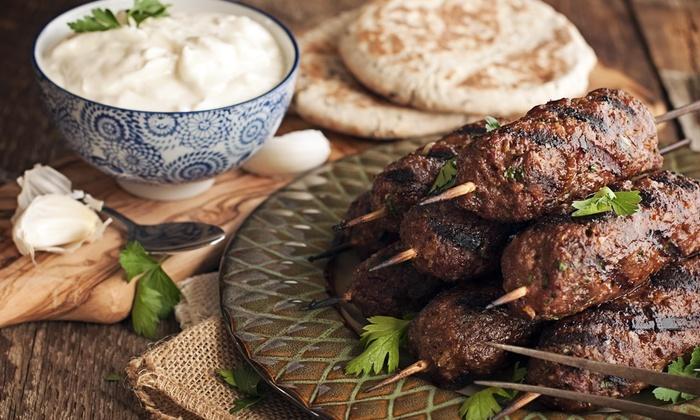 Kabul Express Kabob - Newark: 50% Off Dinner Entree and Salad with Purchase of Dinner at Kabul Express Kabob