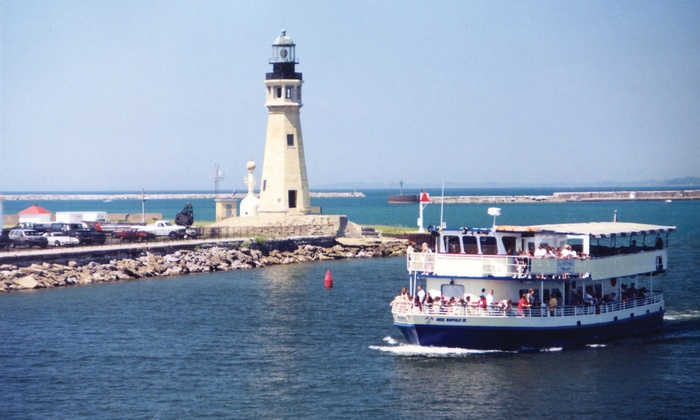 Buffalo Harbor Cruises - Erie Basin Marina : Sightseeing Cruise for Two or Four from Buffalo Harbor Cruises (Up to 50% Off)