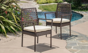Parker Wicker Dining Chairs (2-Piece): Parker Wicker Dining Chairs (2-Piece)