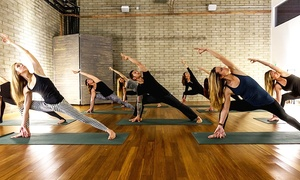 Elevate Studio: Five or Ten Pilates, Cycling, Yoga, or CrossFit Accelerator Classes at Elevate Studio (Up to 75% Off)