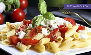 Brooklyn Bistro: Italian Cuisine for Up to Two or Four at Brooklyn Bistro (Up to 49% Off)