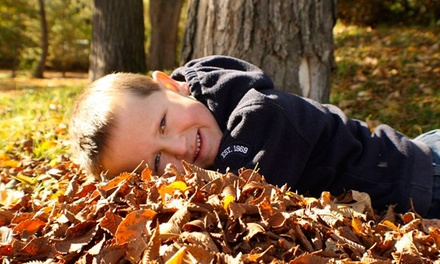 $49 for a Family Photo-Shoot Package with CD and 8