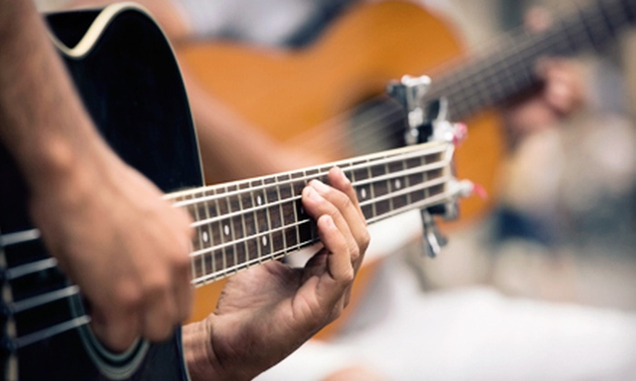 The Music Store - Rocklin: $49 for Four 30-Minute Private Music Lessons at The Music Store in Rocklin ($100 Value)