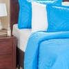 Solid Embossed Quilt Sets (3-Piece)