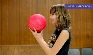 Sunset Recreation Bowling Lanes: Bowling Outing for 4 or 8 with Shoe Rental, Pizzas & Soda at Sunset Recreation Bowling Lanes (Up to 56% Off)