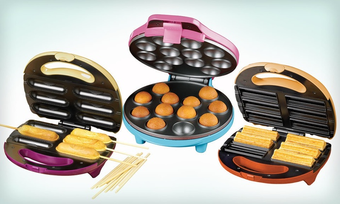 Nostalgia Electrics Snack Makers: $12 for Nostalgia Electrics Cake-Pop, Churro, or Snack-on-a-Stick Maker ($29.99 List Price)