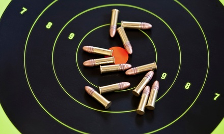 Shooting-Range Package for Two or Four with Gun Rentals at The Shooters' Club (Up to 41% Off)