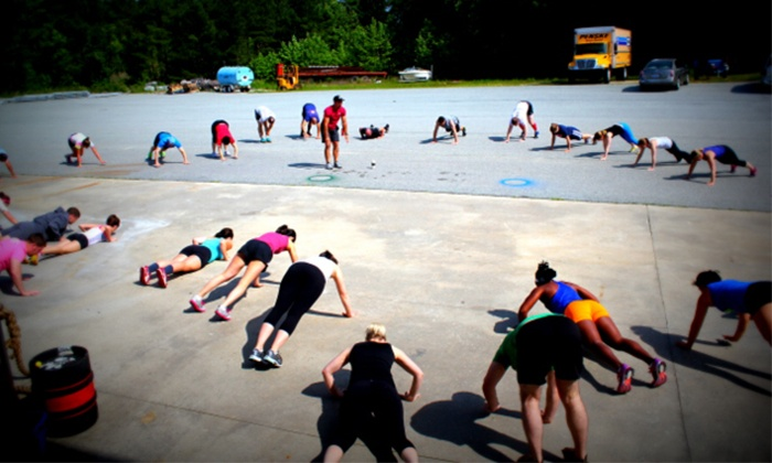 CrossFit Local - Chapel Hill: One Month of Boot-Camp Classes Held One, Two, or Three Days a Week at CrossFit Local (Up to 55% Off)