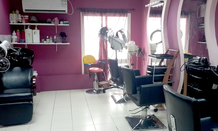 Cut, Style and Blow-Dry AED 39 - Essence Beauty Salon