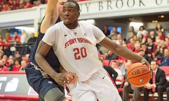Stony Brook Men's Basketball - Island Federal Credit Union Arena: Stony Brook Seawolves Men's Basketball Game for Four with VIP Buffet (January 9–February 8)