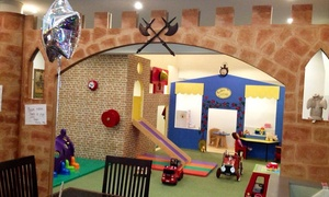 Jollytots & Cookies: Play Entry and Lunch For Two, Three or Four Childen from £9 at Jollytots and Cookies