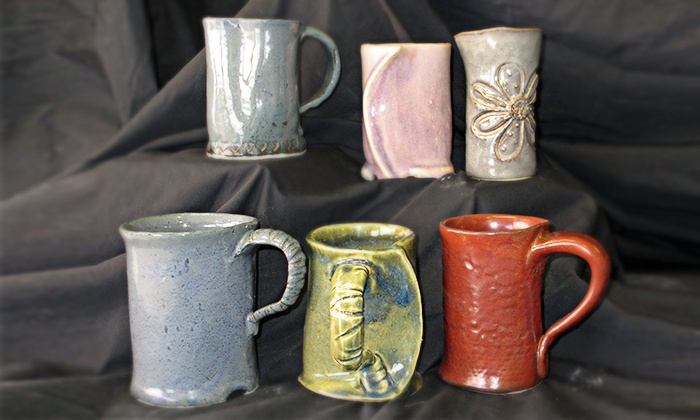 Clay Connection - East Central: Make-Your-Own Mug Class for One or Two at Clay Connection (Up to 54% Off)