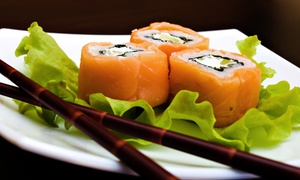 Sushi & Thai: CC$10 for CC$25 Worth of Asian Cuisine and Drinks at Sushi & Thai
