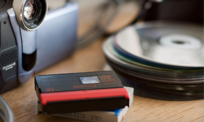 Universal Video Conversions - Schaumburg: DVD Transfers from Film, Scanned Photos, or Video from Universal Video Conversions (Half Off). Two Options Available.