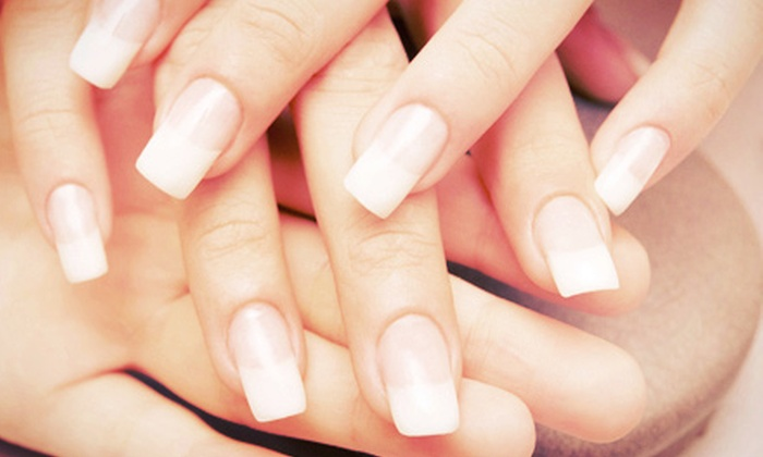 Savvy Nails - University Place: $55 for $100 Worth of Mani-Pedis at Savvy Nails