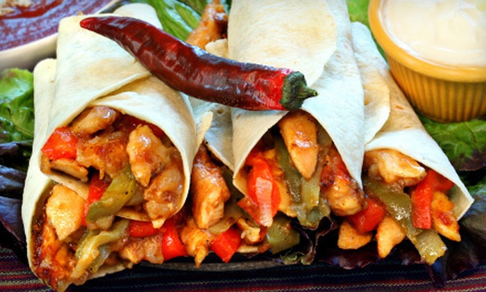 Fajita Taco Place - Multiple Locations: $10 for $20 Worth of Mexican Food at Fajita Taco Place