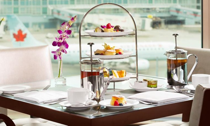 Fairmont Vancouver Airport - Fairmont Vancouver Airport: C$75 for Afternoon Tea with Fondue and Sparking Wine For Two at Fairmont Vancouver Airport (C$150 Value
