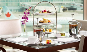 Fairmont Vancouver Airport - Afternoon Tea: CC$54 for Afternoon Tea for Two with Parking at Fairmont Vancouver Airport (CC$108 Value)