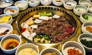 Everyday Good House: Korean Barbecue and Drinks for Two or More or Four or More at Everyday Good House (40% Off)