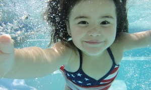 American Swim Academy: Four 30-Minute Indoor Swim Lessons at American Swim Academy (Up to 51%Off). Four Locations Available.